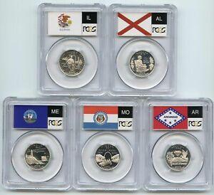 2003 S Silver State Quarter Set PCGS PR69DCAM