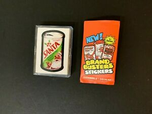 2020 Brand Busters Wacky Packages Series 1 Complete Sticker Set + Wrapper 30/30