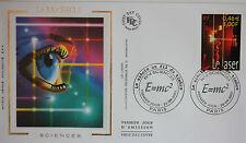 ENVELOPPE PREMIER JOUR - 9 x 16,5 cm - ANNEE 2001 - XX° siècle SCIENCES