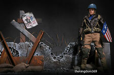 Hot Toys Captain America EX Rescue Version ( Diorama Base Only ) One of a Kind !