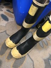Ranger Firemaster Steel Midsole Insulated Rubber Boots Size 9.5
