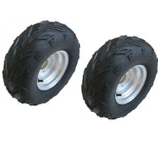 2PCS 16X8-7 Tire Tyre and Rim for ATV Buggy Go kart Trolley Trailer XQ