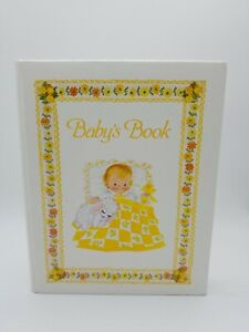 Vintage Baby Book First 7 Years Yellow Boy or Girl New Never Used Dolli Tingle