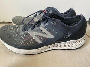 New Balance Fresh foam 1080 Mens Athletic Shoes Running Walking Train Blue Sz 12