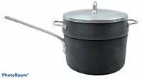 Magnalite GHC Aluminum Professional 3 Quart Qt Sauce Pot Pan with Steamer & Lid