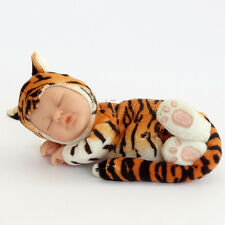 ANNE GEDDES DOLL 'Bean Filled' collection NEW in Box BABY TIGER Doll 9'' 579120