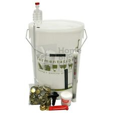 NUOVO STARTER HOME Brew KIT CON TAPPI DI BOTTIGLIE per birra rendendo HOMEBREWING