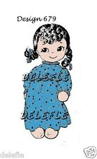 679 Design S 00004000 ock Rag Soft Doll Pattern Clothes Mail Order