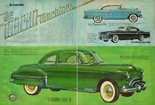 1968 vintage automobile art-article, 'Macho Machines' Muscle cars-060113