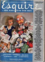 1941 Esquire December - Christmas Number; Sports Pole; Carcassonne France; Gifts