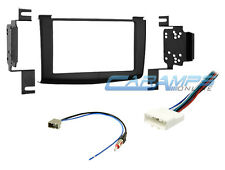 DOUBLE 2 DIN CAR STEREO INSTALLATION DASH KIT W WIRE HARNESS FOR 2008-2010 ROGUE