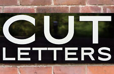 FLAT CUT LETTERS, SHOP SIGNS, EXHIBITION, DISPLAY