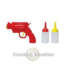 Condiment Gun Ketchup Mustard Picnic Fun Game Shoot Condiments Party Parties