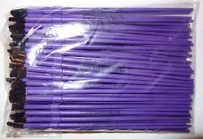 Lot 100 New Fishing Rod Building Epoxy Finishing Purple Nylon Disposable Brushes