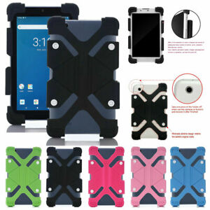 For Onn 10.1 inch Android Tablet Universal Kids Shockproof Silicone Shell Cover