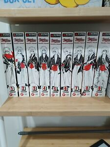 Kenshin vol 1-9 VIZBIG
