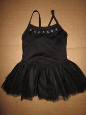Girls MOTIONWEAR dance gymnastics leotard leo w/ attached skirt M Md Med 8 - 10