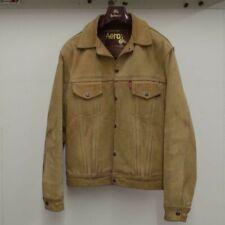 Aero authentic suede jacket - sand / beige - size 38