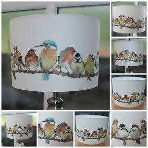 STUNNING LAURA ASHLEY GARDEN BIRDS LAMPSHADE VARIOUS SIZES - 20CM 30CM 40CM