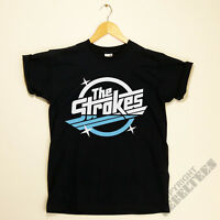 THE STROKES T-shirt RETRO album logo print - indie rock music band NEW