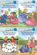 NEW The Princess Twins Set of 4 I Can Read Mona Hodgson Julie Olson Zonderkidz