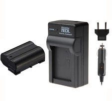 PT EN-EL15 Battery + Charger for Nikon D7200 D7100 D750 D800 D810 D850 D610 V1