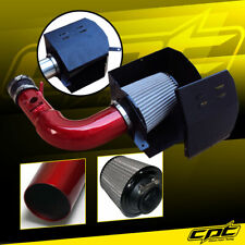 For 13-19 Scion FRS BRZ 2.0L 4cyl Red Cold Air Intake + Stainless Steel Filter