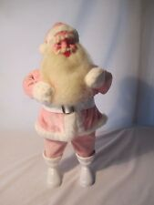 "Vintage Pink Mary Kay Harold Gale Santa Clause Doll 15"" Tall Christmas Beautiful"