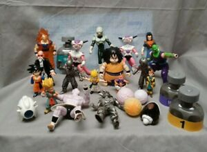 Vintage Lot Of 16 Dragon Ball Z Action Figures & More