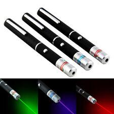 3PC 10Mile Laser pointer Pen Red + Green + Blue Laser Pointer Visible Beam Light