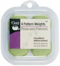 Dritz Fabric Pattern Weights One (4 Pack) of Either Pink Green or Purple No