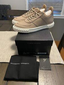NEW Giuseppe Zanotti Beige Blabber Sneaker Sz 10 US / 43 EUR