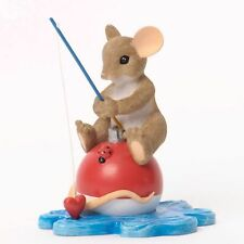 """Charming Tails Mouse 3.5"""" Father Dad, I Would Be Sunk Without You #4035260 Nib"""