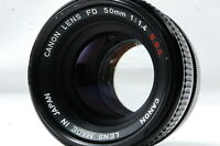 **Not ship to USA**  Canon FD 50mm F1.4 S.S.C. Lens  SN1041202