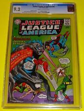 1965 JUSTICE LEAGUE OF AMERICA #36 CGC 9.2 CR-OW NM- Batman Monster Green Arrow
