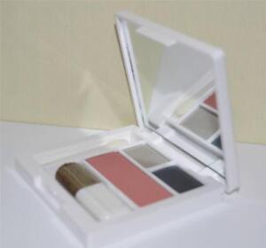 CLINIQUE Fig #06 Soft-Pressed Powder Blusher & Nightcap #11 Duo Eye Shadow Set