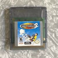 Tony Hawk's Pro Skater Nintendo Gameboy Cartridge Color Cleaned & TESTED