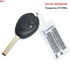 Replacement Remote Key Fob 2B 315Mhz ID73 for 2002 - 2005 BMW Mini R50 / R53