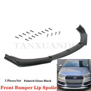Fit For AUDI A1 S1 2010-2018 8X Front Bumper Lip Spoiler Underbody Kit TYQCZ07