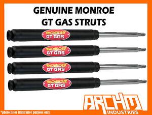 F & R MONROE GT GAS SHOCK ABSORBER FOR HOLDEN APOLLO SEDAN & WAGON 1987-1992