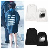 KPOP IU Hoodie Palette Ablum Sweater Uaena Pullover Ji Eun Sweatershirt