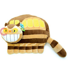 "My Neighbor Totoro Cat Bus Pilush Doll Pillow Cushion  16"" Large"