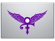 "Prince The Angel Artist Icon Legend Logo RIP decal sticker 8""  Purple"