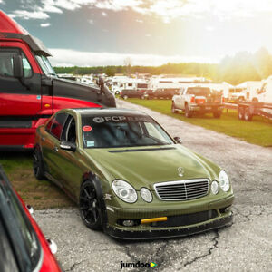 "Fender flaresfor Mercedes W211 CONCAVEwide body wheel arches 1.5"" 40mm 4pcs"
