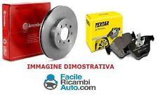 Kit dischi e pasticche freno Ant.BMW Serie 3 (E46) 318d 320 d 85kw Brembo Textar
