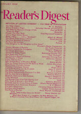 READER'S DIGEST Magazine January 1948