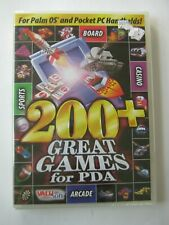 200+ Great Games for Pda For Palm Os and Pocket Pc Handhelds New Sealed