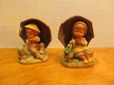 Set of Nesco Kissing Boy and Girl Figurines