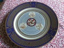 Rosenthal Classic Rose Collection rare Isle of Man Millennium plate