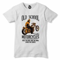 Race The Wain Ride The Wind Chase The Sunset  Tshirt Motorcycle Motorbike 155